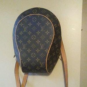Auth Louis Vuitton Ellipse backpach M51125